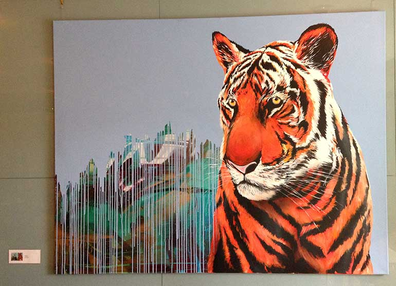 paintining_tiger_shai_dahan_monroedesign_blogg