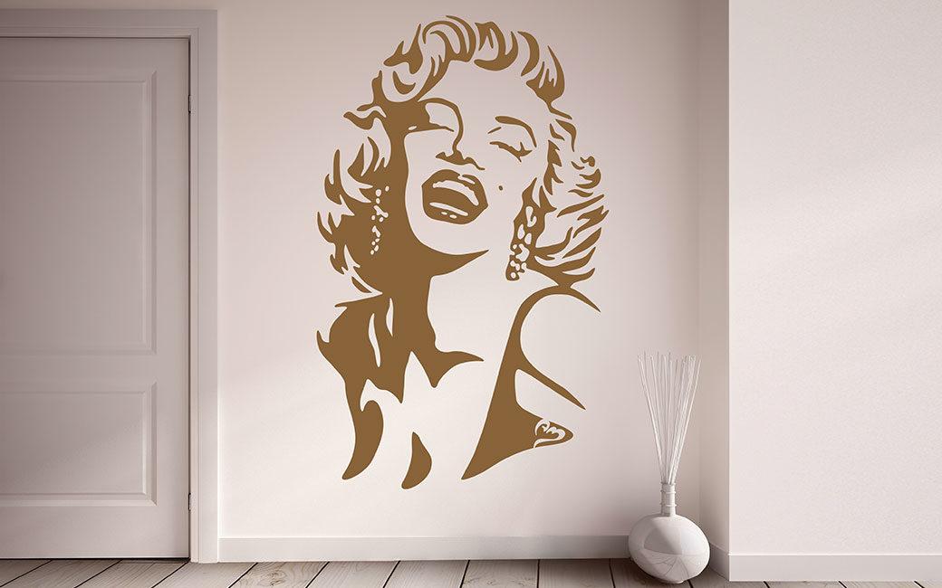Marilyn Monroe produkter inredning väggdekor - MONROE DESIGN