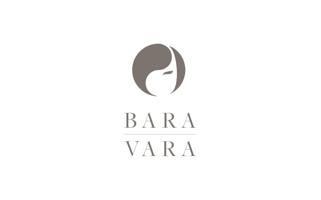Logotyp design i Stockholm - Frisör Bara Vara - MONROE DESIGN AB