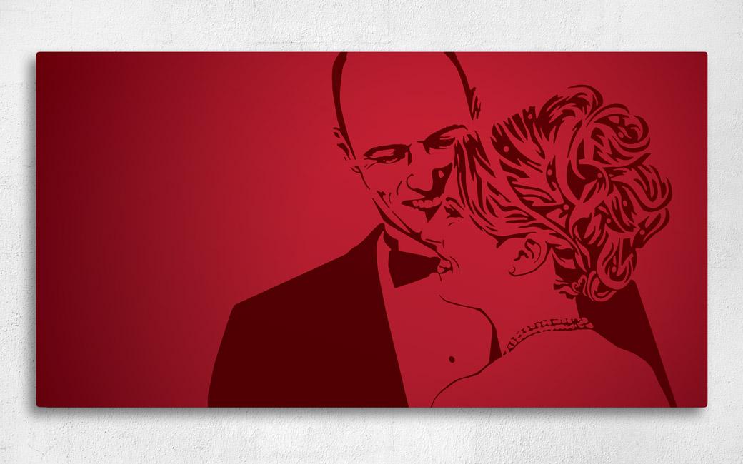 Kärleksgåva canvastavla - personlig från fotografi - MONROE DESIGn AB i Stockholm