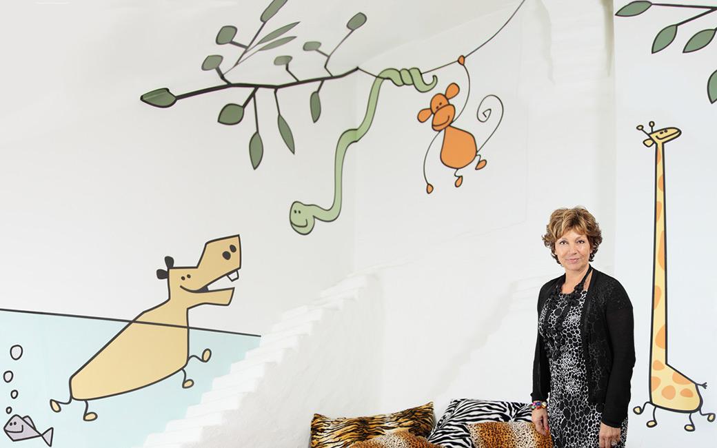Amelia Adamos safari-väggdekor till barnbarnen - MONROE DESIGN AB