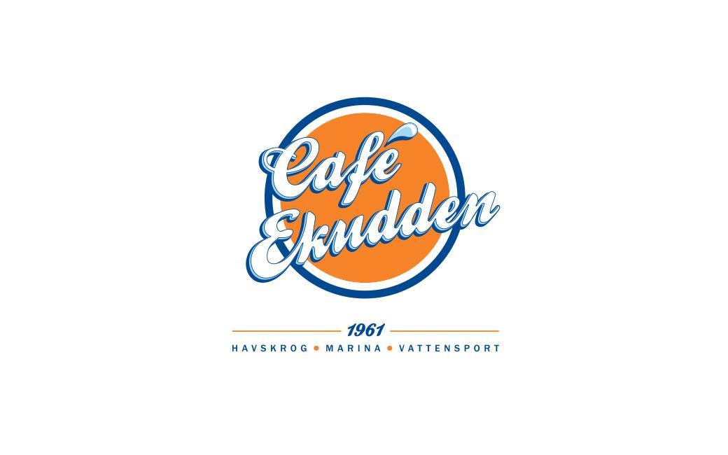 Logotyp havskrog Stockholm - Café Ekudden - MONROE DESIGN AB