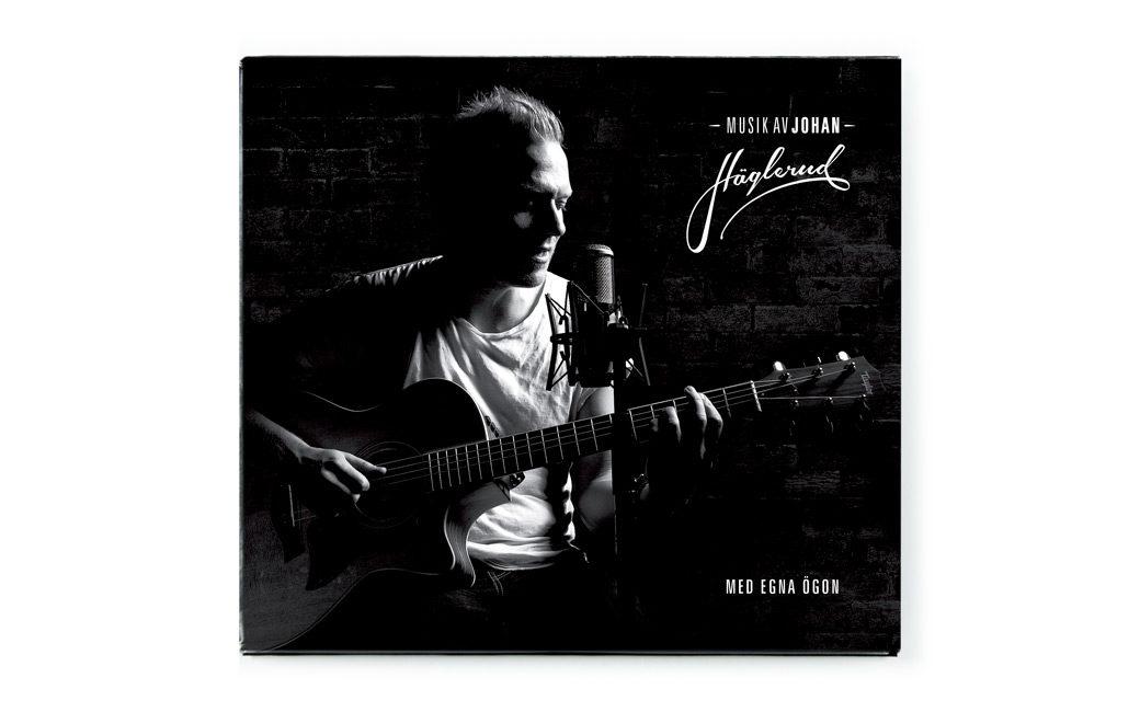 Skivomslag cd design i Stockholm - Johan Häglerud - MONROE DESIGN AB