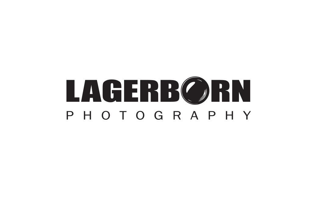 Logotyp fotograf i Stockholm - Lagerborn Photography - MONROE DESIGN AB