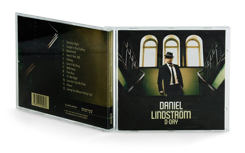 Skivomslag design Stockholm - Daniel Lindström - MONROE DESIGN AB