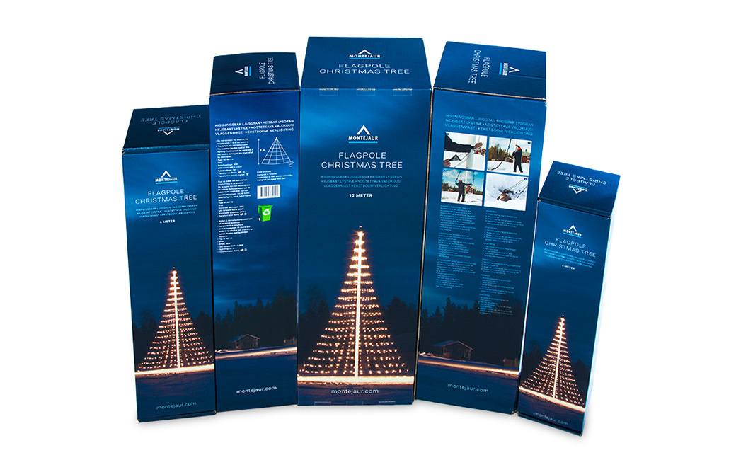 Förpackningsdesign Stockholm - Montejaur kartonger - MONROE DESIAGN AB
