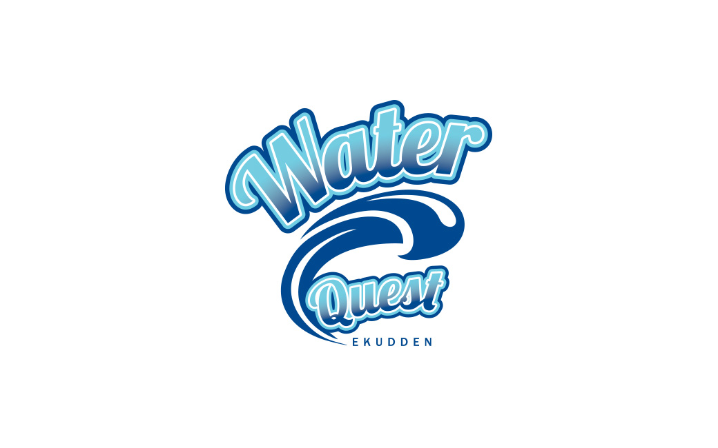 Vattensport logotyp design Stockholm - Waterquest - MONROE DESIGN AB