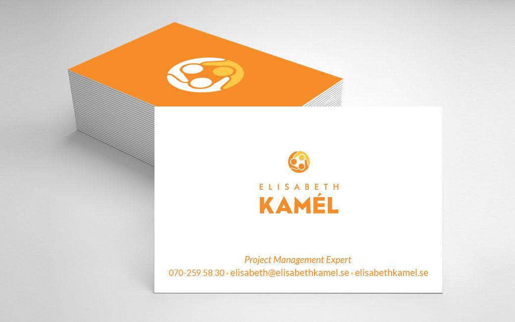 Visitkort design i Stockholm - projektledning - Elisabeth Kamél - MONROE DESIGN