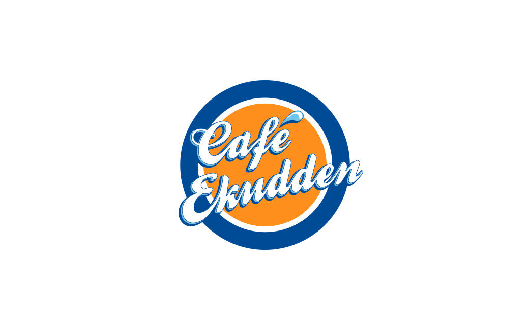 Café logotyp design Stockholm - Café Ekudden - MONROE DESIGN AB