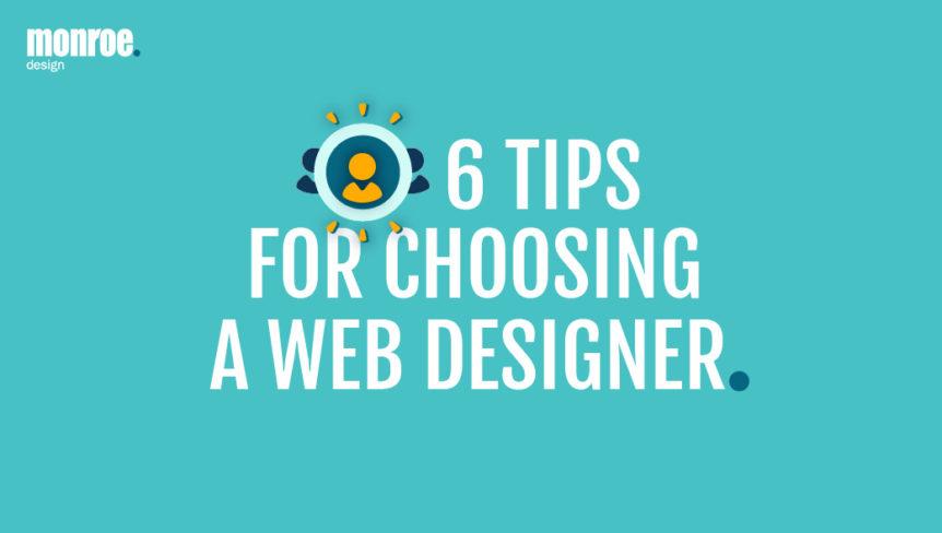 Tipsa for choosing a web designer - MONROE DESIGN in Stockholm