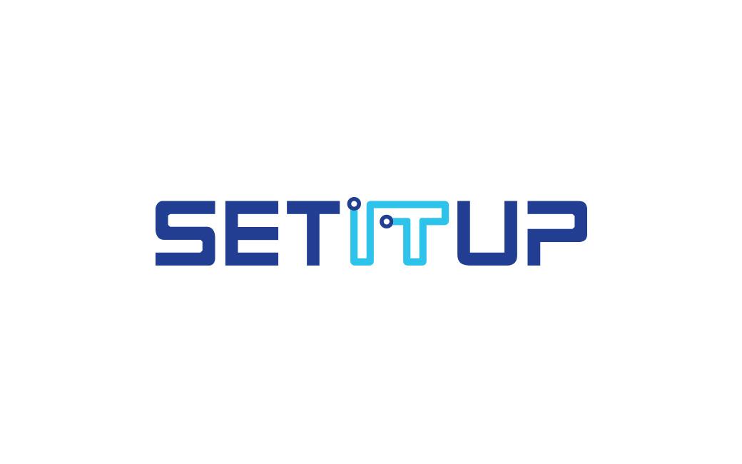 IT-support/kretskort logotyp i Stockholm åt SETITUP - av MONROE DESIGN AB